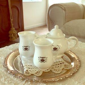Vintage Tea for 2 Set